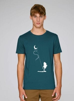 Tshirt Bio Homme Dream Time Outremer