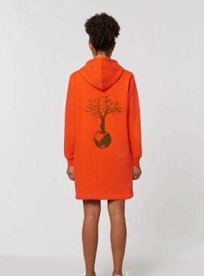 Robe Femme Bio Mandarine Save The World