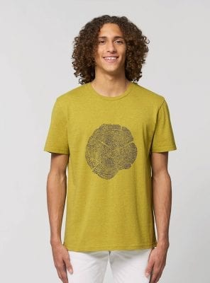 Tshirt Bio Homme Evolution Tournesol