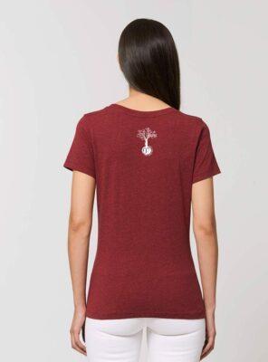 Tshirt Femme Bio Vino dos