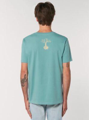 Tshirt Bio Homme Eucalyptus Dos