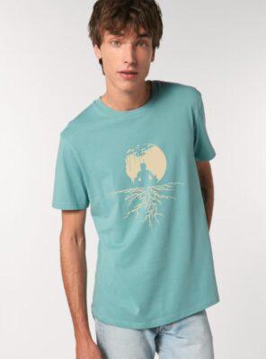 Tshirt Bio Homme Zen Eucalyptus